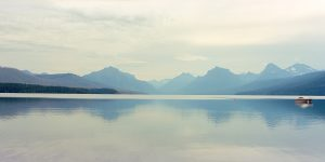 Lake McDonald, Glacier National Park, by Ting-Li Lin
