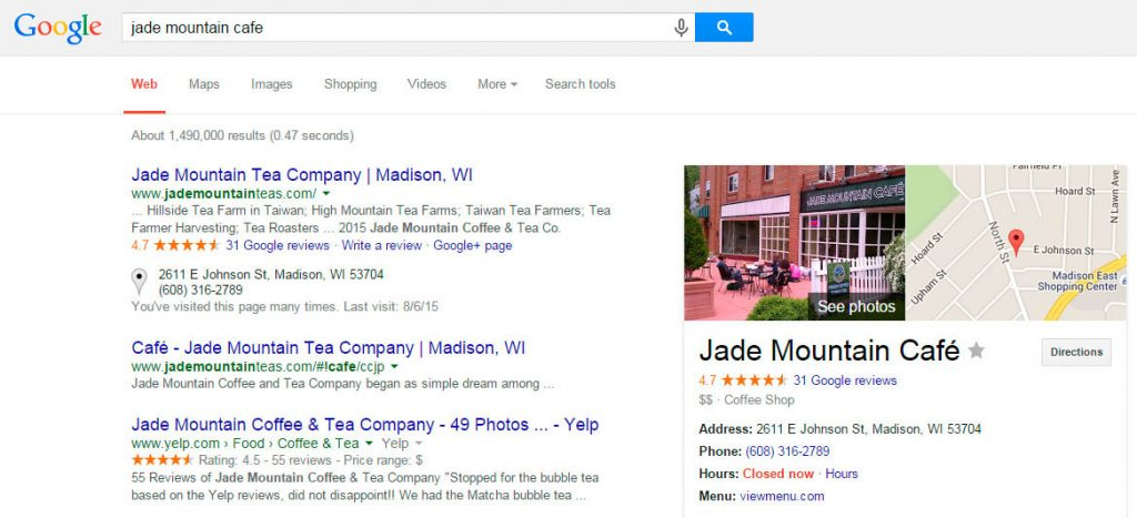 Jade Mountain Cafe Google Search - Before