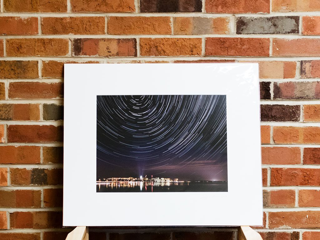 Madison Star Trail Print