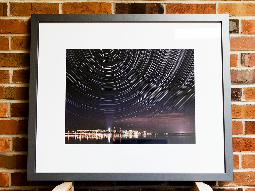 Madison Star Trails Limited Edition Print