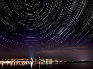 Madison Star Trails by Ting-Li Lin