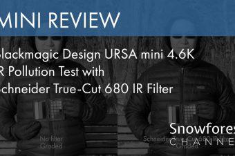 Blackmagic Design URSA mini 4.6K IR Pollution Test