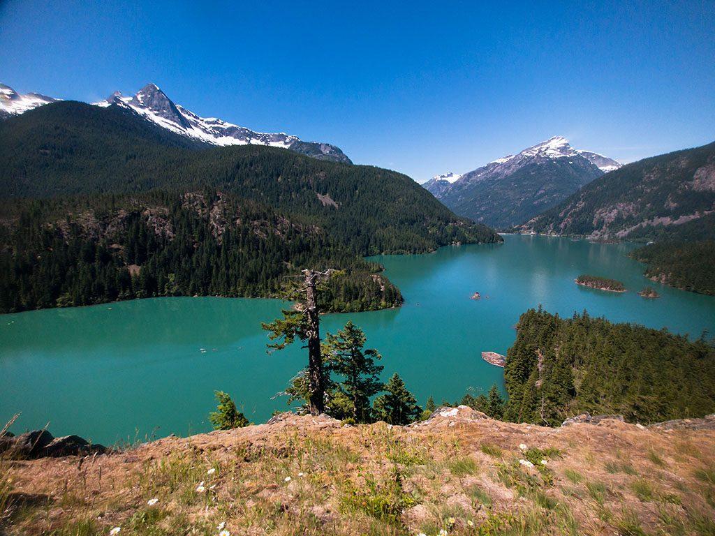 Diablo Lake North Cascades National Park 2017