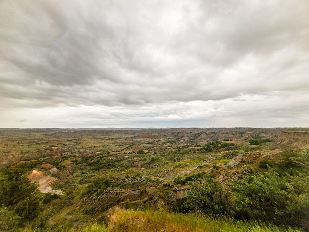 Painted Canyon Theodore Roosevelt National Park 2017