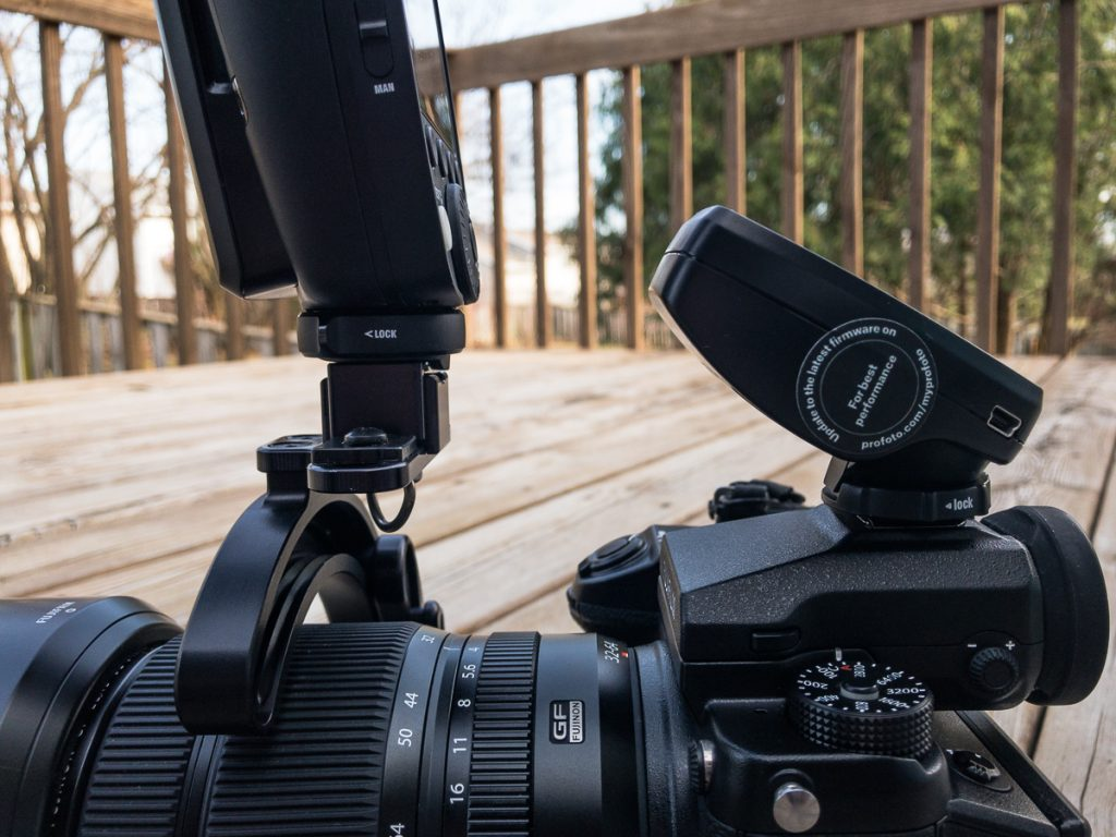 Profoto A1, Air Remote TTL-F, and Fujifilm GFX-50S