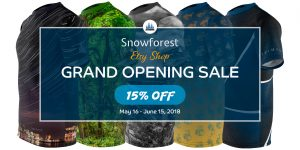 Snowforest Etsy Shop Grand Opening Sale