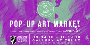 Dane Arts Pop-up Art Market